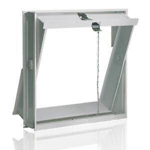 Lüftungsflügel Kippfenster 39x39cm für Glasbausteine für 4 Glassteine 19x19x8cm