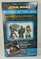STAR WARS RETURN OF THE JEDI READ ALONG PLAY PACK & CASSETTE 3 ACTION FIGURES