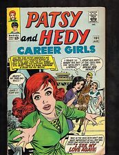 Patsy and Hedy #101 ~ 1965 (5.0) WH