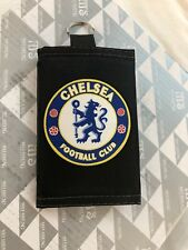 CHELSEA FC Wallet Brand New Canvas With Zipper Nice Design For Kids And Adults