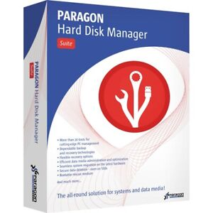 Paragon Hard Disk Manager Limited Edition lifetime license for v17