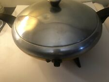 Corey Party Chef Skillet Fry Pan Vintage Model 14–926