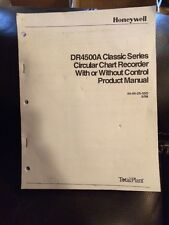 Honeywell DR4500A 44-45-25-35D 5/98 Total Plant Product Manual Book Instructions