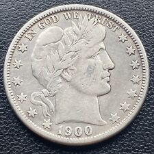 1900 O Barber Half Dollar 50c Rare High Grade VF  #23904