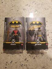 DC Comics Batman Knight Missions Batman and Robin Action Figure New Sealed