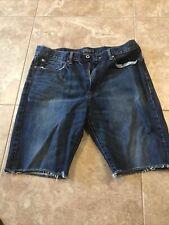 Lucky Brand Mens Shorts Size 36 Denim 121 Heritage