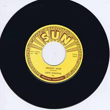 GENE SIMMONS - DRINKIN' WINE / I DONE TOLD YOU (Legendary SUN label ROCKABILLY)