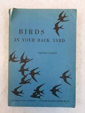 Virginia S. Eifert BIRDS IN YOUR BACK YARD SIGNED Illinois State Museum 1941