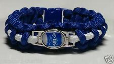 Duke University; Blue Devils Handmade Paracord Bracelet, lanyard or key chain