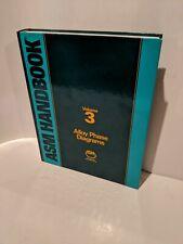ASM Handbook Volume 3: Alloy Phase Diagrams