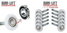"DURA-LIFT Ultra-Life 2"" Reinforced 6200Z Bearing Nylon Garage Door Roller..."