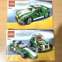 Lego 6743 INSTRUCTION MANUALS ONLY Creator Street Speeder