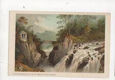Hermitage & Falls Of The Bruar Dunkeld Vintage Postcard 355b