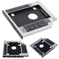 Hot 9.5mm Universal SATA 2nd HDD SSD Hard Drive Caddy for CD/DVD-ROM Optical Bay