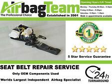Volvo V40 2013 - Onwards Driver Side Front Seatbelt Repair Service Recon Service