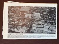 g1q ephemera Reprint Picture Croydon Aerial View 1959