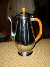 New ListingVintage Krome-Craft Chrome Coffee Art Deco Server Pot Bakelite handle and Finial