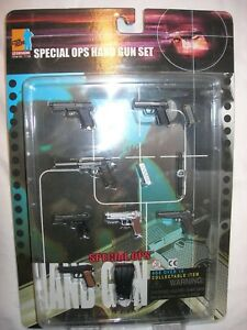 """Toy Weapon Set for 1/6 scale or 12"""" action figures by Dragon DML"""