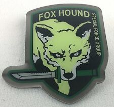 Camouflaged FOX HOUND Video Game METAL GEAR SOLID Special Forces - Enamel Pin