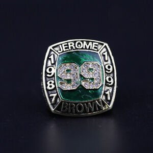Jerome Brown Philadelphia Eagles Ring Eagles Hall Of Fame Ring 1987 to 1991