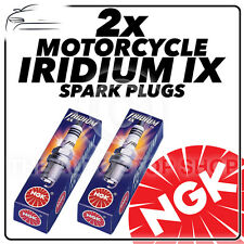 2x NGK Iridium IX Spark Plugs for TRIUMPH 865cc Bonneville 900 /Black 06-  #2202