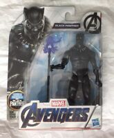 "BLACK PANTHER CHADWICK BOSEMAN T'CHALLA MARVEL AVENGERS 6"" ACTION FIGURE NEW"