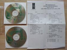 TODD RUNDGREN – ''THE DIFFERENCE''- PROMO 2 CD RADIO SHOW.