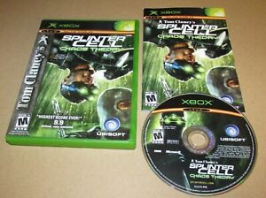 Splinter Cell: Chaos Theory for Microsoft Xbox Complete Fast Shipping
