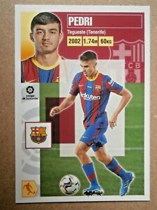 PEDRI #UF Nº 55  (ROOKIE) ( FC BARCELONA )  ED. ESTE 2021  PANINI