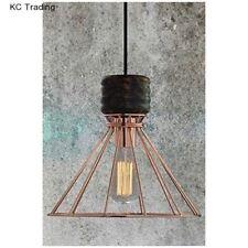 Markenlose Deckenlampen & Kronleuchter im Industriellen aus Eisen
