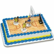 BASKETBALL PLAYERS CAKE TOPPER SET