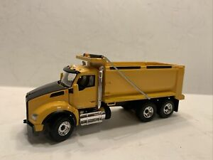Kenworth T880 Dump Truck Yellow/Black First Gear 1:50 scale