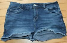 Girls size 16 Justice jean shorts