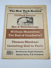 New York Review Of Books- January 24, 1980- Clifford Geertz, William Shawcross