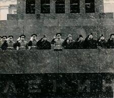 Célébration 54e anniversaire Révolution Octobre 1971 Moscou Lénine URSS