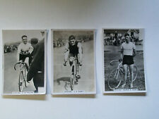 3 x Cycling Sporting Events & Stars cigarette cards Cyclist Pattreiouex Higgins