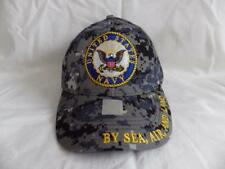 UNITED STATES NAVY UCP CAMO EMBROIDERED BASEBALL CAP