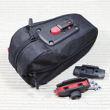 KLICKFIX Satteltasche MICRO SL - 1,2 Liter Volumen - mit Satteladapter