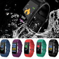 Smart Bracelet Wristband Watch Heart Rate Monitor/Blood Pressure/Fitness Tracker