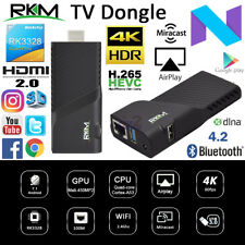 RKM V3 RK3328 Cortex A53 4K Android 7.1 TV Dongle Mini PC WiFi HDMI Media Stick