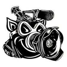 PIG WHEELS FILMER STICKER Pig Wheels Filmer Camera Video Skateboard Decal