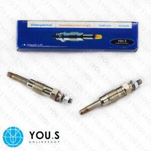 4 Piece You.S Original Glow Plugs For lada Niva (2121) 1900 Diesel 55 Kw 75 HP