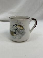 New ListingVtg 1986 Enesco Waterfowl Geese White Coffee Mug Cup 12oz Free Shipping