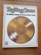 Rolling Stone Mag #507 Aug 27 1987 20th Anniv Issue  100 Best Albums 1967-1987