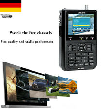 "SATLINK WS6906 3.5"" LCD-Bildschirm Daten-Digital Satelliten Signal Finder A6H6"