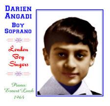 Darien Angadi - Boy Soprano / Treble 1964 - CD