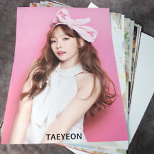 SNSD TAEYEON TAE YEON 12cut Posters Collection 12PCS Bromide + A3  Sticker KPOP