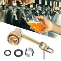 Brass Jet & Carboy Beer Bottle Washer W/ Kitchen Faucet Adapter Home Brew Tools