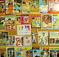1969/70s+ MLB Lot**Rose/Bench/Gibson/Ichiro/Aaron/Ryan/Brett/Chipper Jones (RC)+