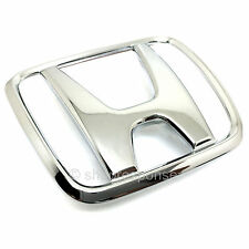OEM Honda 92-95 Civic Hatchback 3 Door Rear H Emblem Badge Chrome 75701-SR3-000